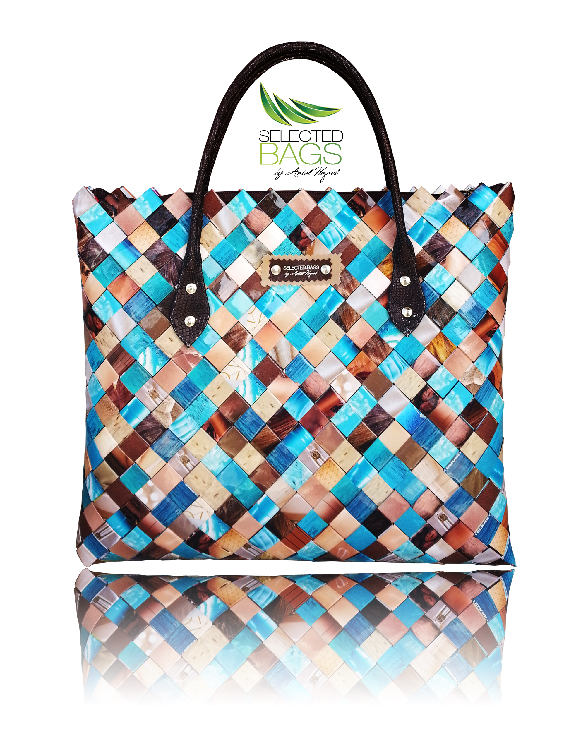 Sky And Sand Oversized Office Bag